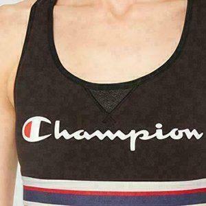 Champion The Authentic Sports Bra Logo Womens 2XL